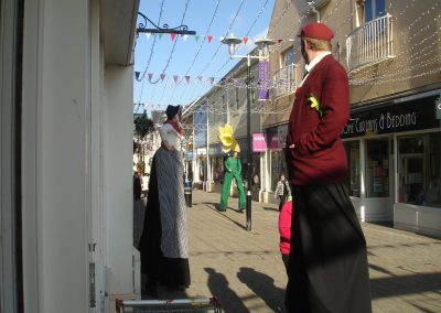 Welsh Stilt Characters Jimmy Juggle