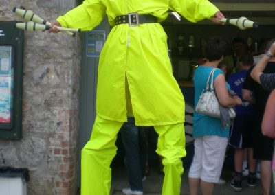 Fisherman Stilt Character Maritime Jimmy Juggle
