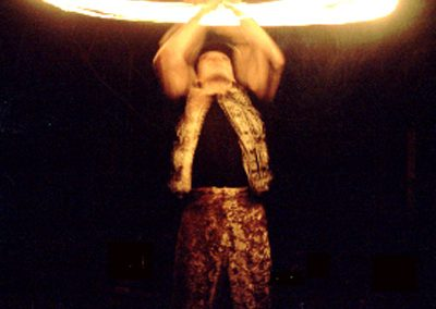Fire Performance Jimmy Juggle