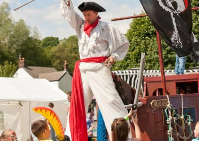 Pirate Stilt Character Maritime Jimmy Juggle